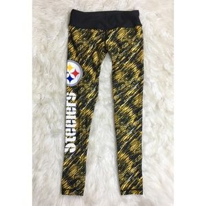 Pittsburg Steelers Work Out Athletic Leggings